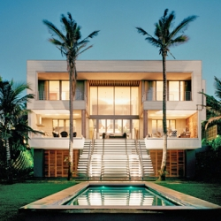 modern beach villa in salt rock | dwellinggawker