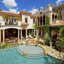 Mediterranean Villa Design In California Luxury Interiors Luxury Homes